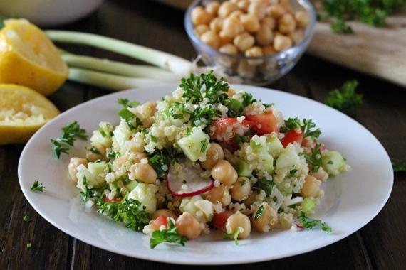 Shepards Salad with Quinoa