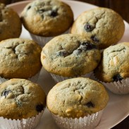 Coconut and Blueberry Muffins