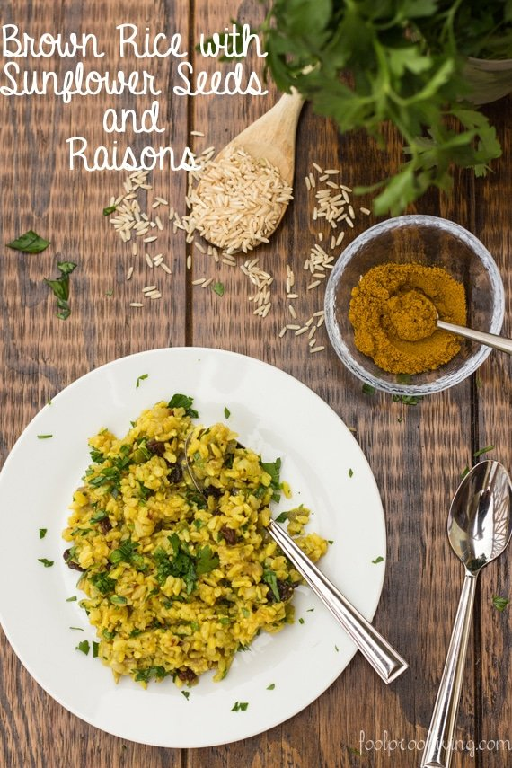 Add this Curried Brown Rice in your brown rice recipes list