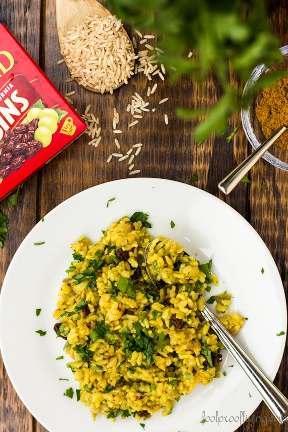 Curried Brown Rice recipe