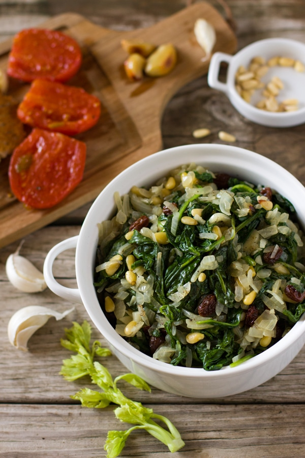 Catalan-Style Spinach - Foolproof Living