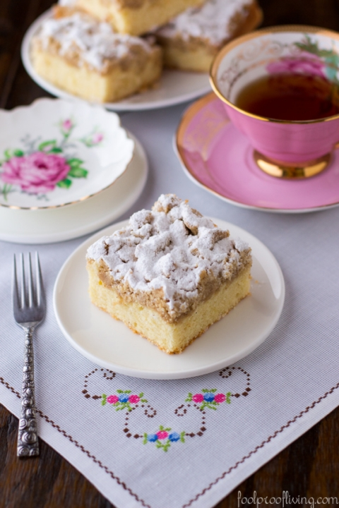 New York-Style Crumb Cake - Foolproof Living