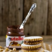 Nutella Sandwich Cookie