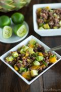 Mango and Red Quinoa Cereal