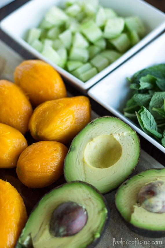 Quinoa Salad Recipe With Lime + Fresh Mint Recipes — Dishmaps