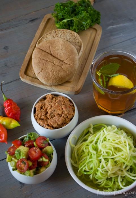 Bulgur and Lentil Vegan Burger