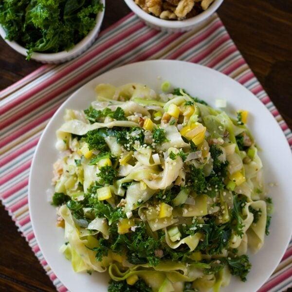 Zucchini Kale Recipe