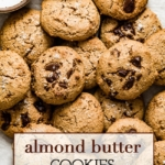 Almond Butter Cookies right out of the oven