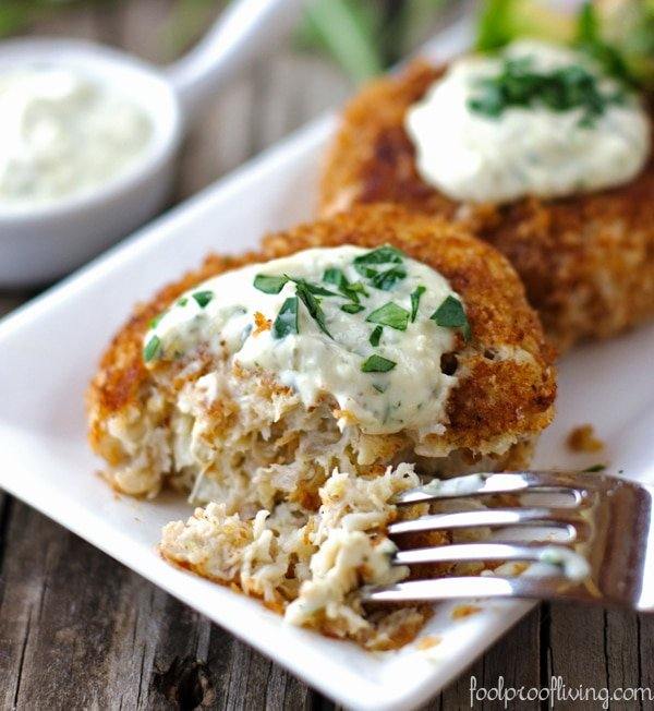 Crab Cakes with Rémoulade Sauce