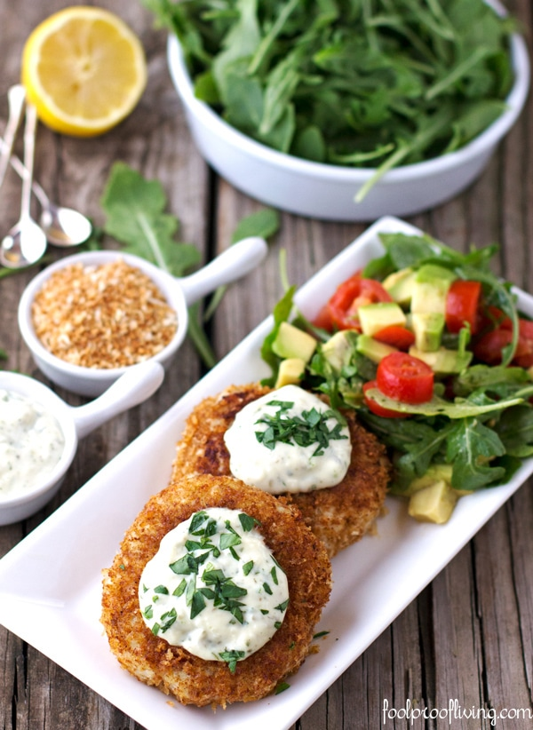 Foolproof Crab Cakes