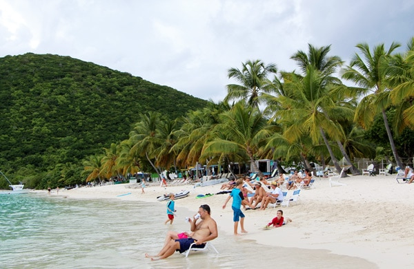 A Day Trip to Jost Van Dyke - white sand beaches