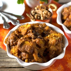 Pumpkin - Maple Bread Pudding
