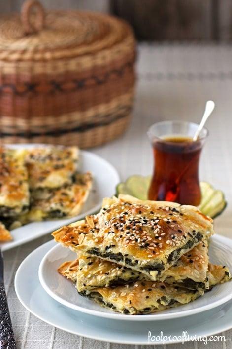 Spinach and Feta Cheese Börek