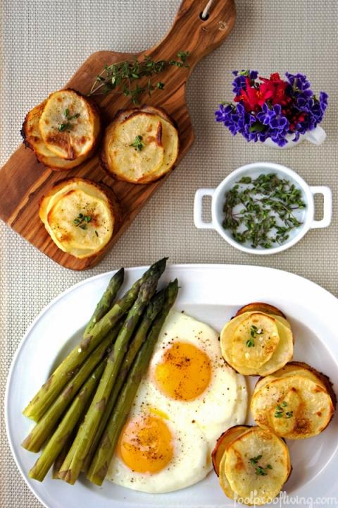 Muffin-Pan Potatoes