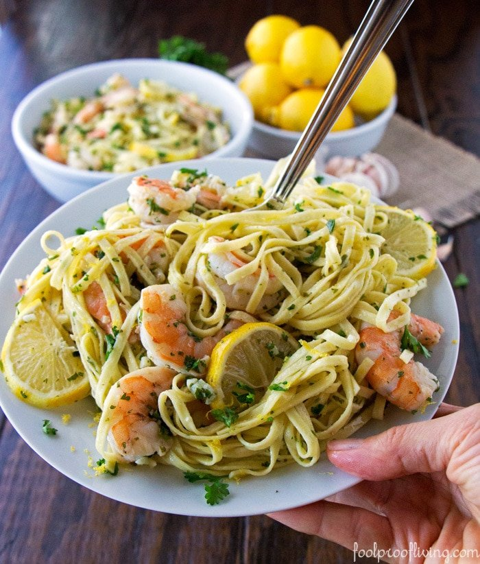 Linguine With Shrimp Recipe — Dishmaps