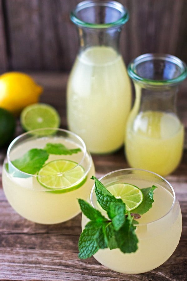 Dominican Style Ginger Ice Tea