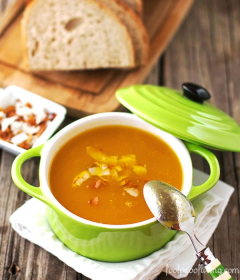 Dominican Style Ginger Soup