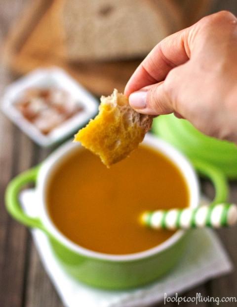 Dominican Pumpkin Ginger Soup