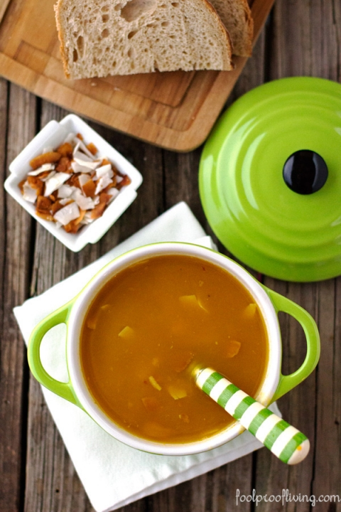 Dominican Pumpkin Ginger Soup