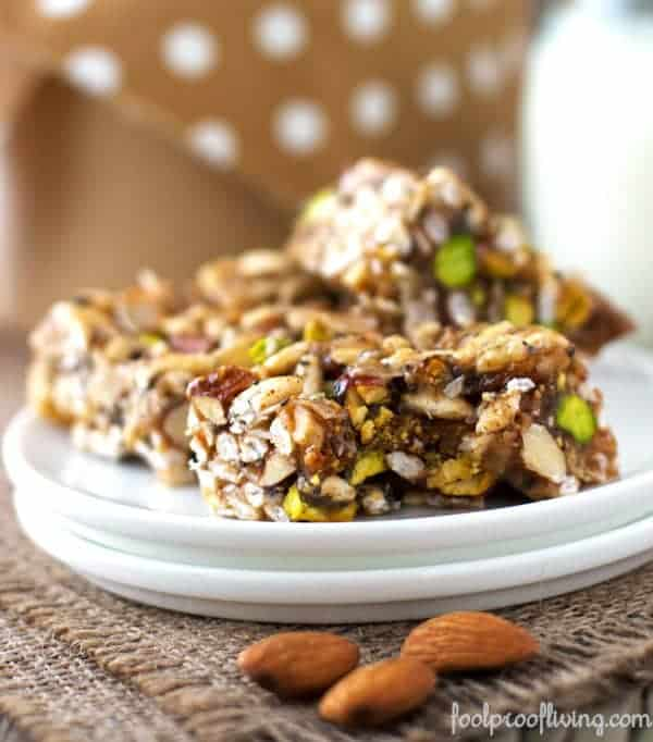 "Homemade ""Kind"" Breakfast Bars"