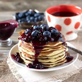 Ricotta and Lemon Pancakes
