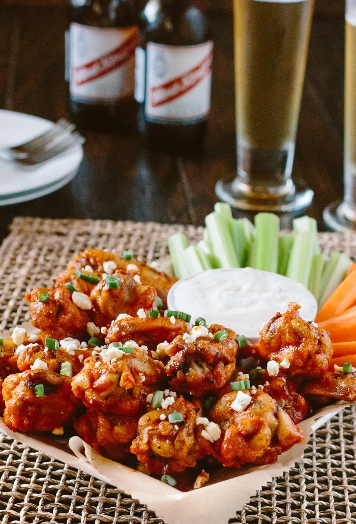 Oven Baked Chicken Wings With Hot Wing Sauce Foolproof Living