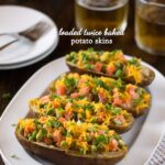 Loaded Twice-Baked Potato Skins