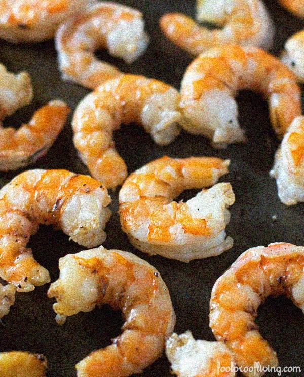 Roasted Shrimp Salad