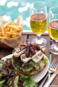 Saba Rocks' St. Bart's Burger