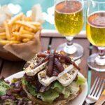 Saba Rocks' St. Bart's Burger