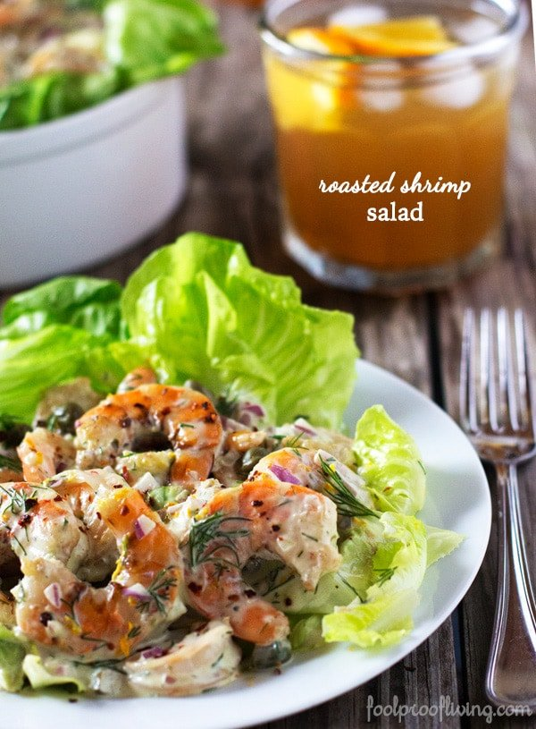 Roasted Shrimp Salad Foolproof Living