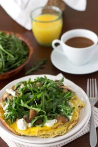 West Egg's Portobello Frittata