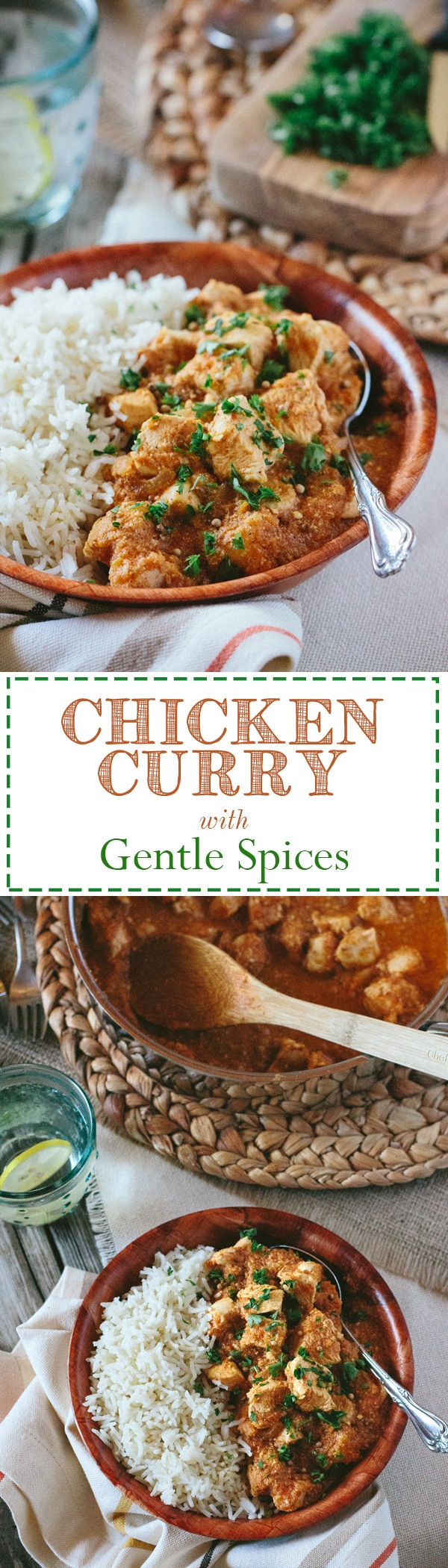 Chicken Curry with Gentle Spices: The most amazing Curry Chicken dish made with a secret technique I learned from a chef from Guyana at a Caribbean culinary event.