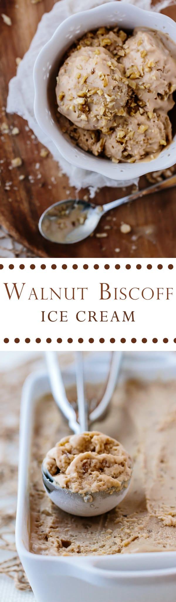 Biscoff Walnut Ice Cream