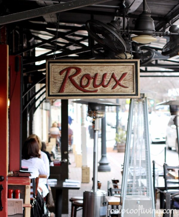 Roux on Canton Roswell GA