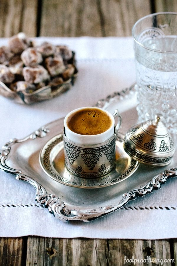 learn how to make turkish coffee with step by step photos. Black Bedroom Furniture Sets. Home Design Ideas