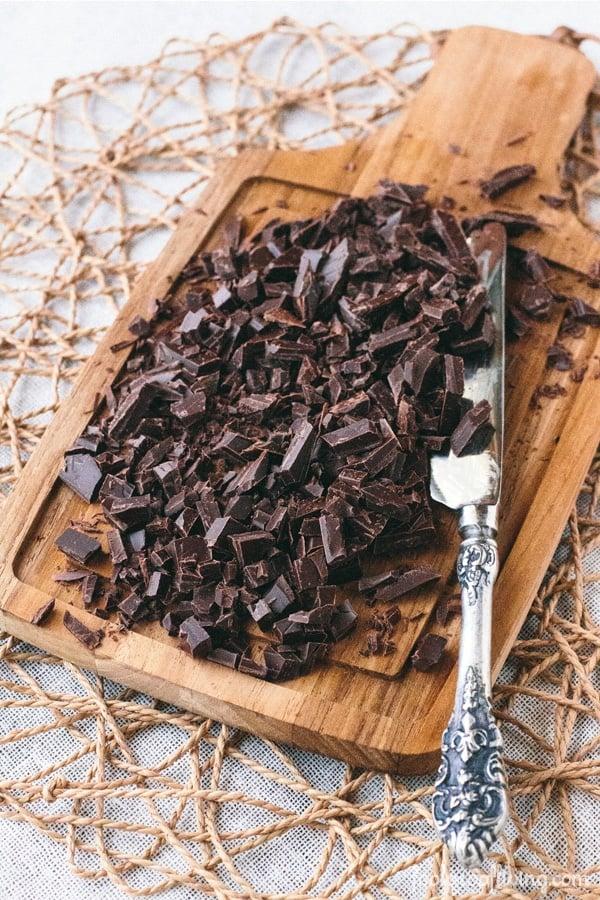 Dark Chocolate Waffle Cake with Mascarpone Whipped Cream - Foolproof ...