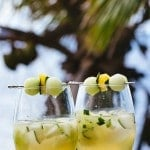 Women on the Rock {A Caribbean Cocktail}