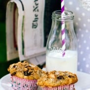 Granola Top Banana and Coconut Muffins
