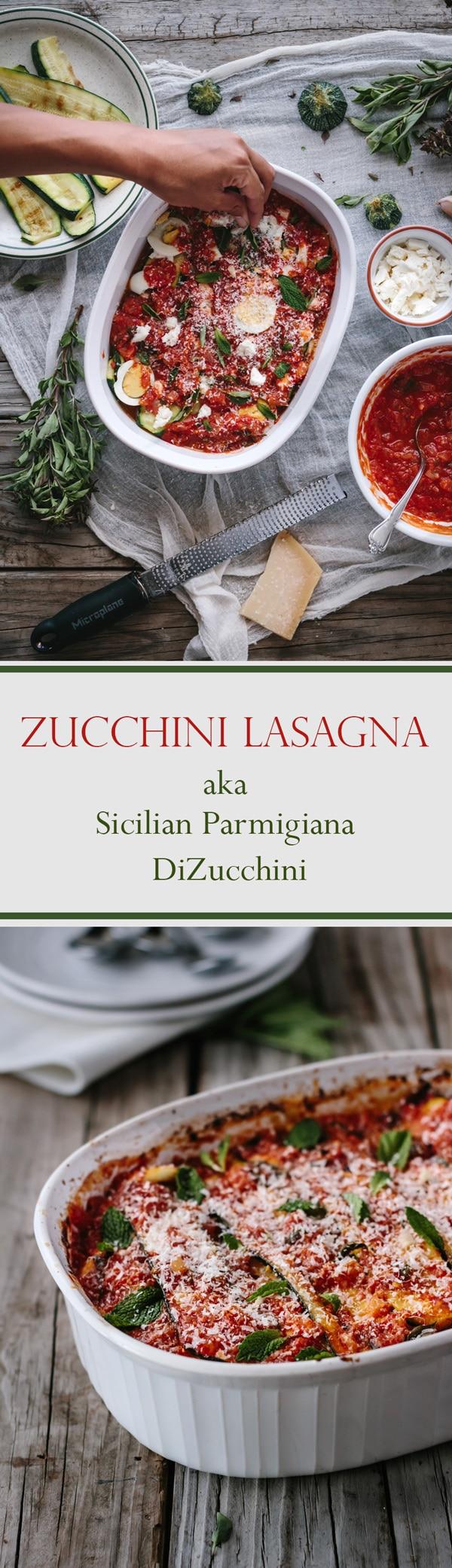 Sicilian Parmigiana DiZucchine