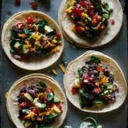 Black Bean and Quinoa Tacos
