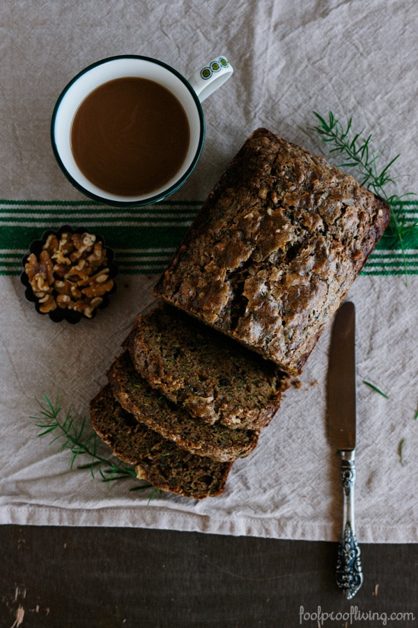Zucchini Bread - Foolproof Living