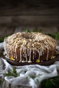 Mango Coconut Coffee Cake