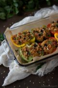 Middle Eastern Inspired Stuffed Peppers
