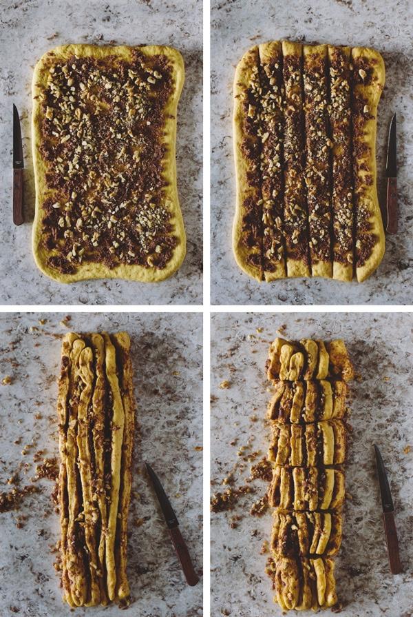 Pumpkin-Cinnamon Pull-Apart Bread