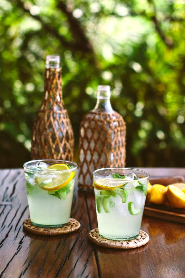 Celery Citrus Spritzer: An easy-to-make and refreshing cocktail to enjoy any time of the year.
