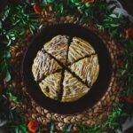 Pumpkin, Fig, and Pecan Scones with Brown Butter Glaze