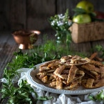 Apple Pie Cookies on a plate