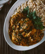 Slow Cooker Curried Chicken Breasts