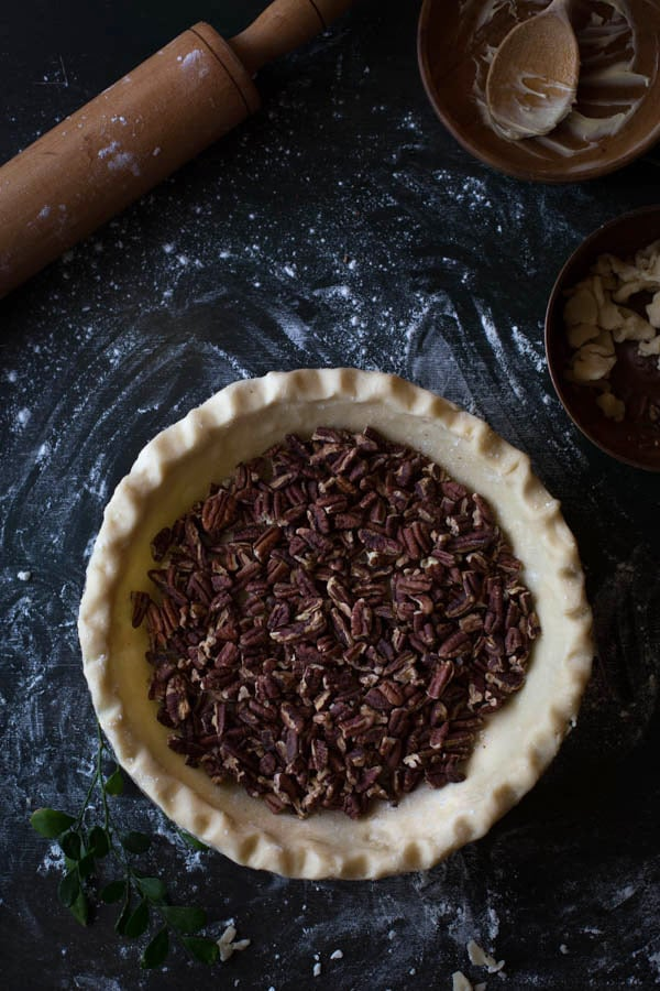Old-Fashioned Maple Pecan Pie with Bourbon Whipped Cream ...